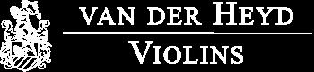 van der Heyd Violins | Logo white transparent