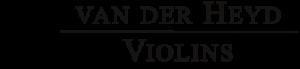 van der Heyd Violins | Logo klein